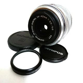 オリンパス(OLYMPUS)のOLYMPUS PEN PL 標準レンズ 14-42mm(レンズ(ズーム))