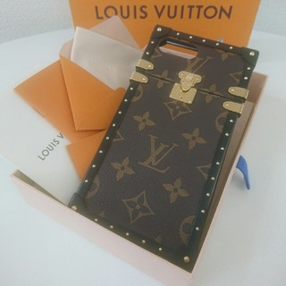ルイヴィトン(LOUIS VUITTON)の★美品★Louis Vuitton☆ルイヴィトン★アイトランク☆正規品★(iPhoneケース)