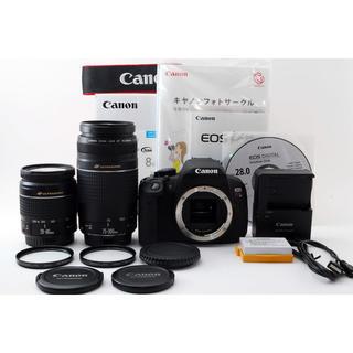 キヤノン(Canon)の★極上級★Canon Kiss X7i 300mm超望遠ダブルレンズ(デジタル一眼)