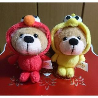 USJ エルモ&クッキーモンスター ぬいぐるみ キーホルダー(ぬいぐるみ)