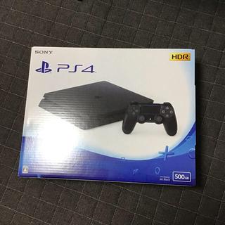 プレイステーション4(PlayStation4)のPS4 本体 500GB ジェットブラック CUH-2200A(家庭用ゲーム本体)
