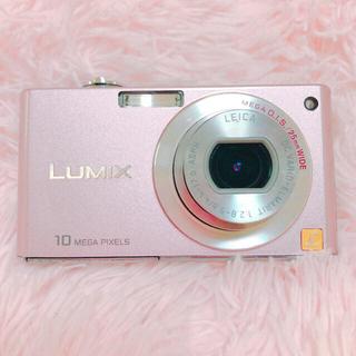 パナソニック(Panasonic)のPanasonic LUMIXデジタルカメラピンク画質綺麗可愛いデジカメ(コンパクトデジタルカメラ)