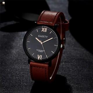 腕時計 ギリシャ文字 メンズ クォーツ腕時計 高品質 ファッション時計 ビジネス(腕時計(アナログ))