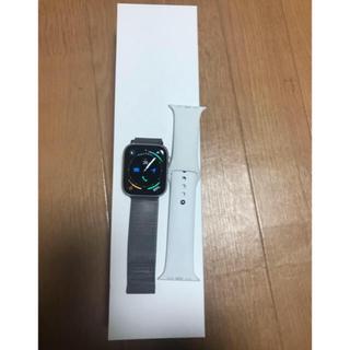 アップル(Apple)のApplewatch series4(スマートフォン本体)