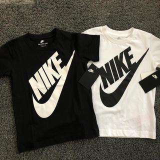 ナイキ(NIKE)の新品 NIKE ナイキ Tシャツ 黒 白 100(Tシャツ/カットソー)
