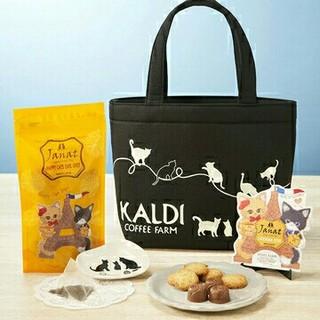 KALDI - 【KALDI】カルディ 猫の日バッグ ★未使用品★