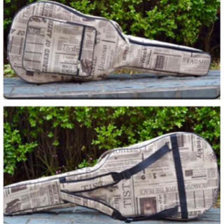 ギター ギターケース エレキ アコギ エレアコ セミハード ケース カバー 音楽(ケース)