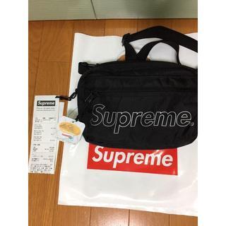 supreme Shoulder Bag Black 18aw 18fw ショル(ショルダーバッグ)