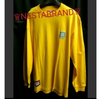 ネスタブランド(NESTA BRAND)のセール NESTA BRAND ネスタ ブランド バックロゴ ロンt L(Tシャツ/カットソー(七分/長袖))
