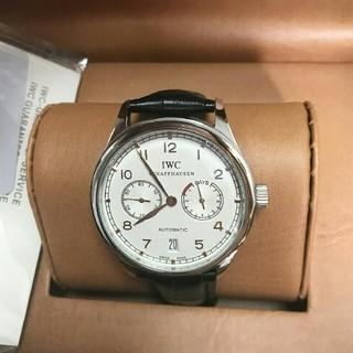 インターナショナルウォッチカンパニー(IWC)のIWC 腕時計 ポルトギーゼ 7デイズ 自動巻き(腕時計(アナログ))