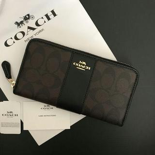 COACH コーチ 長財布 ブラック(長財布)