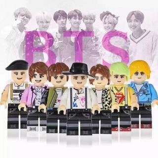BTS 防弾少年団 LEGO互換 ミニフィグ(アイドルグッズ)