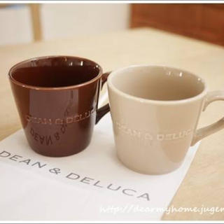ディーンアンドデルーカ(DEAN & DELUCA)のDEAN&DELUCAモーニングマグ(グラス/カップ)