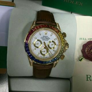 ロレックス(ROLEX)の18kローズゴールドROLEXジンディ 腕時計(腕時計(アナログ))