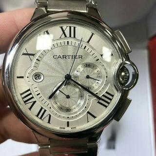 カルティエ(Cartier)のカルティエ バロンブルー クロノグラフ W6920076 自動巻き (腕時計(アナログ))