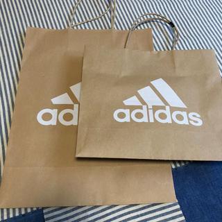 アディダス(adidas)のアディダス ショップ袋 2枚(ショップ袋)