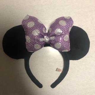 ディズニー(Disney)のミニーマウス カチューシャ ディズニーリゾート(キャラクターグッズ)