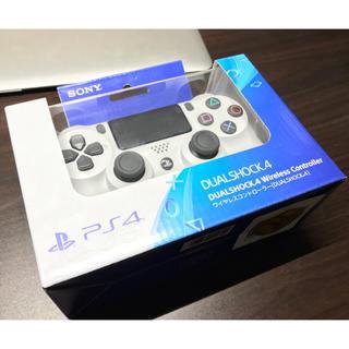 プレイステーション4(PlayStation4)のデュアルショック 4 Glacier White 新品 PS4 コントローラー(その他)