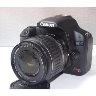 キヤノン(Canon)の【フルHD動画対応】キャノン Canon EOS KISS X3 レンズセット(デジタル一眼)