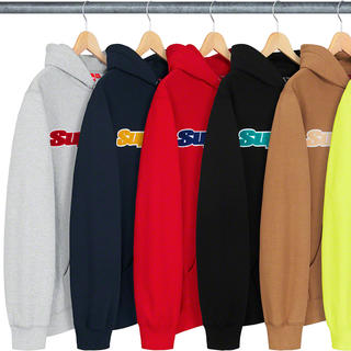 シュプリーム(Supreme)のSupreme Chenille Hooded Sweatshirt(パーカー)