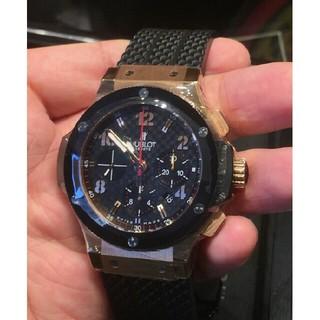 新品ウブロビッグバンK18PGピンクゴールドセラミック301.PB.131.RX(腕時計(アナログ))