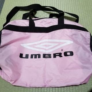 アンブロ(UMBRO)のUMBRO アンブロ ピンク ボストンバッグ スポーツバッグ(ショルダーバッグ)