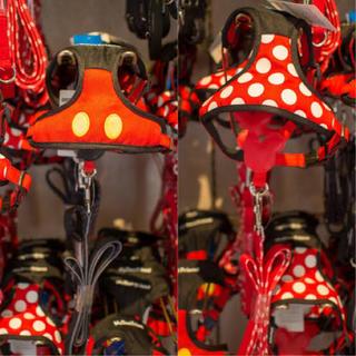 ディズニー(Disney)のディズニーリゾート限定 ミッキー リード ハーネス 3Sサイズ ペット用品(リード/首輪)