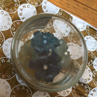 フランフラン(Francfranc)のグラスキャンドル(Francfranc)(アロマ/キャンドル)