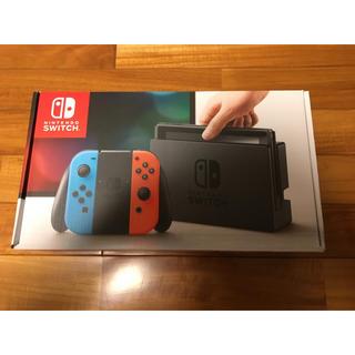 ニンテンドースイッチ(Nintendo Switch)のNintendo Switch本体 新品未開封(家庭用ゲーム本体)