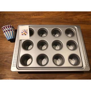 イケア(IKEA)のマフィン型【IKEA製】(調理道具/製菓道具)