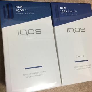 アイコス(IQOS)の【新品未使用!!】IQOS3 MULTI マルチ セット (タバコグッズ)