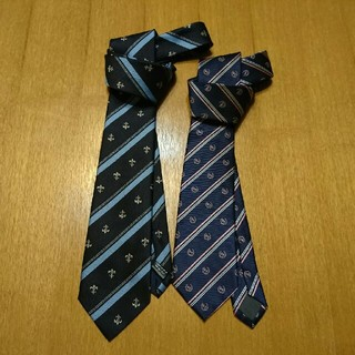 KURI-ORI & CONOMI 学生用 ネクタイ2本セット(ネクタイ)