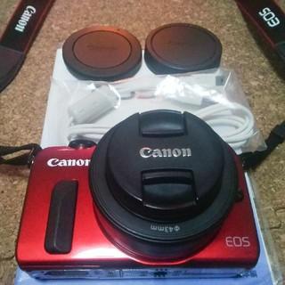キヤノン(Canon)のCanon EOS MとEF-M22mm F2セット(ミラーレス一眼)