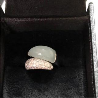 アクアマリン  ダイヤモンドリング(リング(指輪))