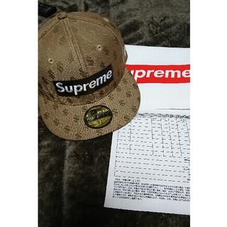 シュプリーム(Supreme)のSupreme Newera Monogram box logo キャップ (キャップ)