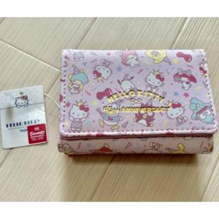 45周年アニバーサリーがま口財布☆ピンク☆三つ折り財布☆(財布)
