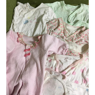 アカチャンホンポ(アカチャンホンポ)の新生児 女の子 肌着セット(肌着/下着)