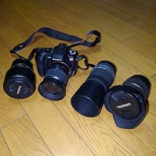 SONY - SONY 一眼レフデジタルカメラ レンズ4個セット