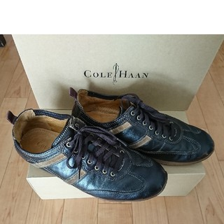 コールハーン(Cole Haan)のコールハーン COLE HAAN スニーカー 7 25cm ダークブラウン(スニーカー)