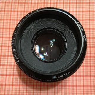 キヤノン(Canon)のCanonカメラレンズ(美品)(レンズ(単焦点))