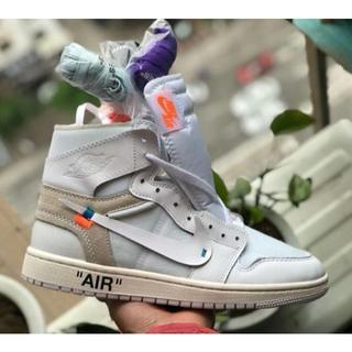 オフホワイト(OFF-WHITE)のair nikeジョーダン1 off white AJ1スニーカー 靴シューズ(スニーカー)
