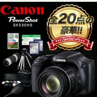 Wi-Fi搭載/スマホと連動 Canon/ PowerShot SX530HS(コンパクトデジタルカメラ)