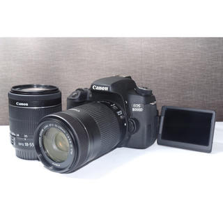 キヤノン(Canon)の【純正のSTMレンズ】キャノン Canon 8000D Wレンズキット(デジタル一眼)