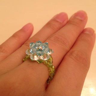 ♡ブルーローズの指輪♡(リング(指輪))