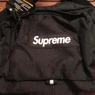 シュプリーム(Supreme)の黒 Supreme ショルダーバッグ 19SS(ショルダーバッグ)