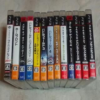 プレイステーション3(PlayStation3)のPS3ソフト  13枚セット(家庭用ゲームソフト)
