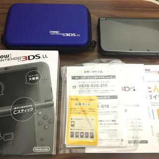 ニンテンドー3DS(ニンテンドー3DS)の「Newニンテンドー3DS LL メタリックブラック」(携帯用ゲーム本体)