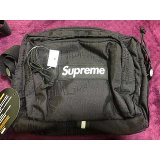 シュプリーム(Supreme)のsupreme shoulder bag 19ss 黒(ショルダーバッグ)