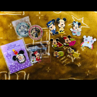 ディズニー(Disney)のディズニーバッチ&キーホルダー(キャラクターグッズ)