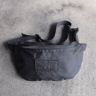 19SS.新作●新品 SOFT MACHINE ウエストポーチ 黒 バッグ(ショルダーバッグ)